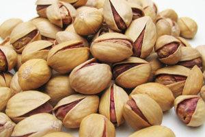 ピスタチオは食物繊維、ビタミンB1・B2、カリウム、鉄、銅などが豊富