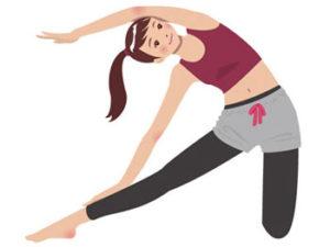 腸のストレス解消に効果的な方法の一つは筋肉や下半身を動かすことです