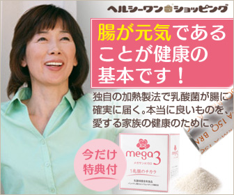 腸を元気にする乳酸菌サプリメント「メガサンA150」