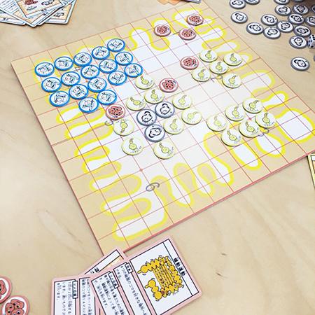 腸内細菌ボードゲーム「バクテロイゴ」