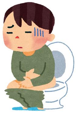 免疫力が低下するとお腹が弱く、よく下痢を起こす