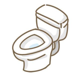 普段利用している洋式トイレが最も排便に長く時間がかかりました