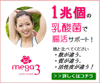 体を守る力を高める乳酸菌メガサンA150