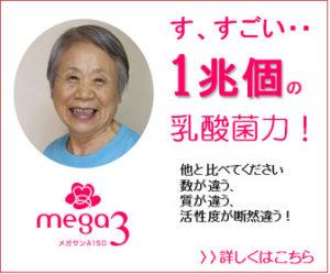 腸内環境と口内環境を改善しよう│乳酸菌サプリメント「メガサンA150」