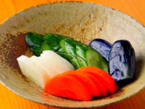 免疫力を高める食べ方や食べ物のヒント~発酵食品であるぬか漬けを食べる