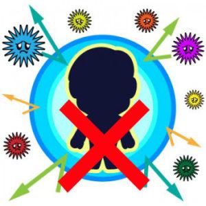 「免疫不全」とは、免疫細胞の仕組みに何らかの障害があり、体が感染しやすい状態を示します