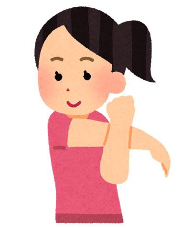 手軽で簡単な「免疫力を高める」運動の一つは、肩関節ストレッチです