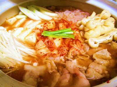 脂肪の燃焼率を高める!ピリ辛キムチ鍋