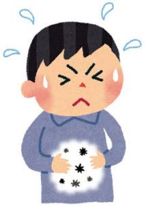 下痢や嘔吐による脱水症状を起こさぬよう水分を補給することが大切