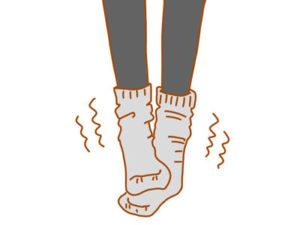 女性は冷え症の問題を抱えている方も多い
