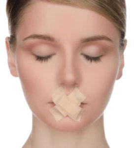 人間の体の構造的に見て口は呼吸器官ではありません