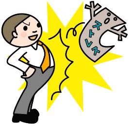 積極的な精神と行動力が、ストレスも減らしてくれる